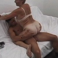 Fresh cock fills her pussy